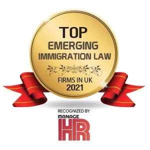 Top 5 Emerging Immigration Law Firms in UK - 2021